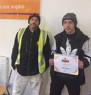 Jack Hughes - Learner of the month